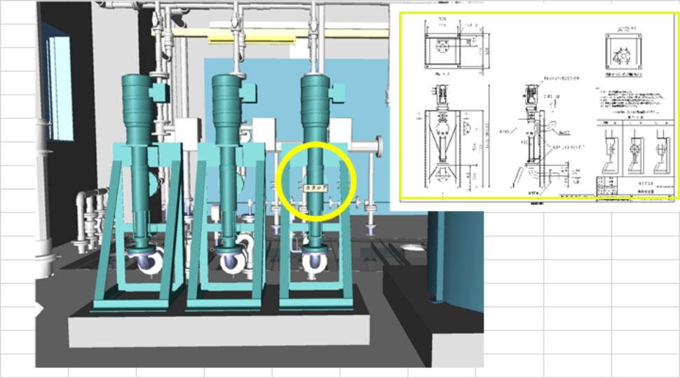 3Dモデル(Navisworks)で全ての情報をデジタル管理